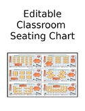 UPDATED-Electronic Editable Classroom Seating Chart