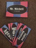 Editable Classroom Signs-Pink and Blue
