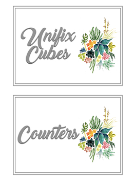 Editable Classroom Supply Labels: Watercolor Themed