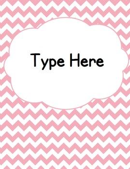 Editable Classroom Theme / Decor / Organization Bundle - Pink
