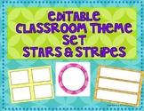 Editable Classroom Theme Set- Colorful Circles!