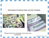 Editable Classroom Theme Set- Polka Dot Print
