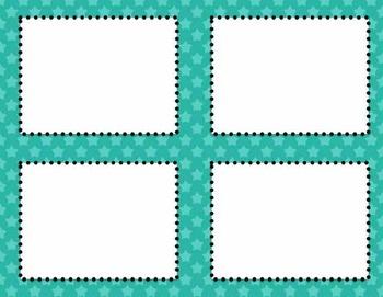 Editable Classroom Theme Set- STARS, Chevron and Stripes!