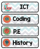 Editable Classroom Starter pack. Alphabet,Class Economy, Schedule cards + more!