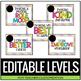 Editable Clip Chart - Theme Park Theme