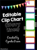 Editable Clip Chart Behavior Management System