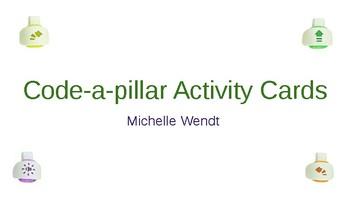 Editable Code-a-pillar Activity Cards