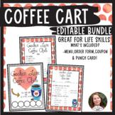 Editable Menu Coffee Cart Bundle