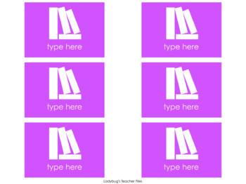 Editable Color Coding Labels