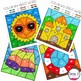 Editable Color by Sight Word - Summer Version