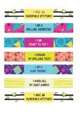 Editable Colourful Brag Bracelets!