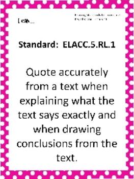 Editable Common Core & EQ Posters for Fifth Grade