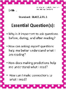 Editable Common Core & EQ Posters for Second Grade