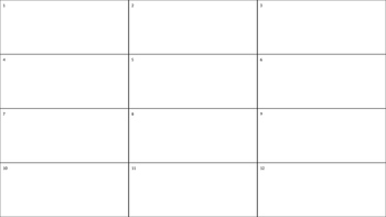 Editable Complete the Square Activity