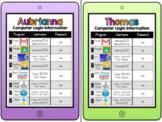 Editable Computer / iPad Login Cards