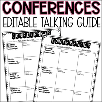 Editable Conference Form
