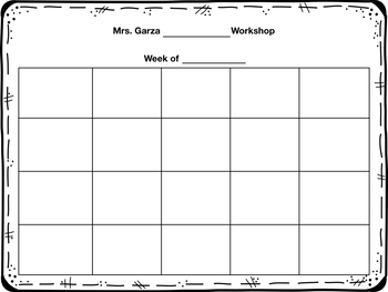 Editable Conferring Grid