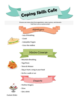 Coping Skills Cafe editable