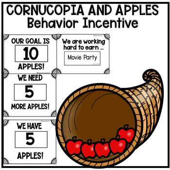 Editable Cornucopia and Apples Behavior Math Reward System