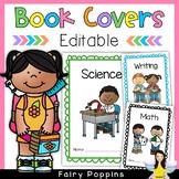 Editable Book Covers (Scalloped Borders)