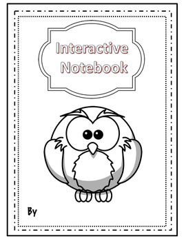 Editable Covers for Interactive Notebooks