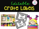 Editable Crate Labels