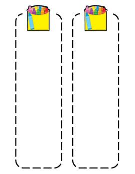 Editable Crayon Tags/Bookmarks