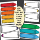 Editable Crayon and Paint Banners and Labels