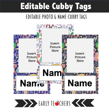 photo relating to Printable Name Tags for Cubbies identified as Editable Cubby Popularity Tags