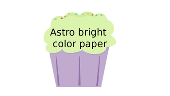 Editable Cupcake Template for wish list