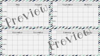 Editable Curriculum Map
