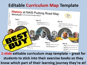 Editable Curriculum Mapping Template