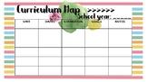 Editable Curriculum Planner
