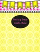 Binder COVERS PINK, YELLOW, AND LEMONADE Planners