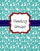 Binder Covers with Spine Labels RED, TURQUOISE AND NAVY