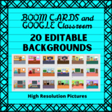 Editable Customizable Background PPT Slides for Boom Cards