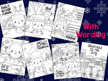 Editable Cute Snowmen Coloring Pages - The Crayon Crowd