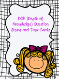 Editable DOK Question Stems/Task Cards