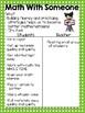 Daily 3 Math I Chart {Editable}