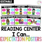 Editable Daily 5 Expectation Posters