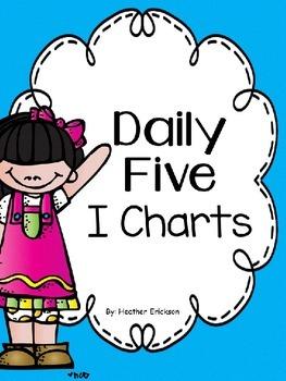 Daily 5 I Chart {Editable}