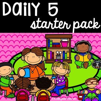 Editable Daily 5 Starter pack