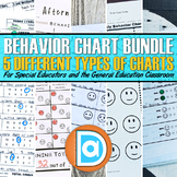 Editable Daily Behavior Charts | BUNDLE | 5 Styles w/Bonus