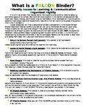 Editable Daily Binder with School Mascot Rules Page