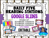 Editable Daily Five Reading Stations for Google Slides