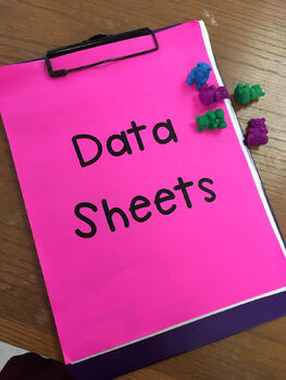 Editable Daily IEP Goal DATA Sheets for 2019-2020 School Year