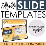 Editable Daily Presentation Slides - Harry Potter Inspired Theme