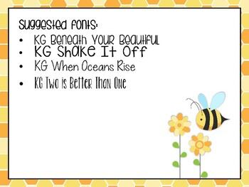 Editable Daily Schedule: Busy Bee