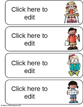 Editable Daily Schedule Cards - Elementary Classroom - 36 Cards Included!