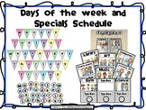 Daily Specials and Days of the Week {Editable}